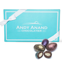 Andy Anand's Dark Chocolate California Almonds 1lbs Gift Box Free Air Shipping - $24.84