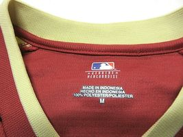 NWT MLB Arizona Diamondbacks Short Sleeve Baseball Jersey Style Shirt Men's Sz M image 4