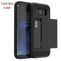 Card Slot Case For Samsung Galaxy A3 A5 A7 J3 J5 J7 2016 2017 Card Slot ... - $6.80