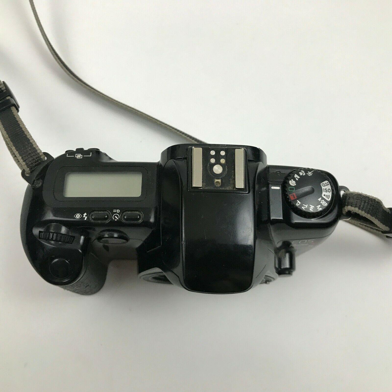 Canon EOS Rebel X 35mm Film Caméra Noir Corps Flash Photographie Photo