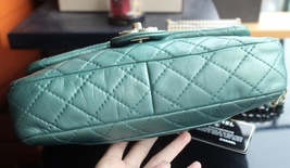 100% Authentic Chanel Limited Edition Turquoise Jewel CC Flap Bag GHW image 4