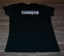 WOMEN'S TEEN GOOD RIDDANCE Skulls T-shirt MEDIUM Punk Band NEW - $19.80