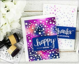Hero Arts Star Confetti Fancy Die #D1331 - PERFECT FOR CARD MAKING! image 1