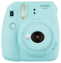 Ice Blue Colour FujiFilm Fuji Instax Mini 9 Instant Photos Films Polaroi... - $94.99