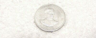 Primary image for PHILIPPINES 1961 JOSE RIZAL NATIONAL HERO CENTENNIAL ONE PESO SILVER COIN GUC