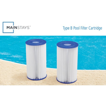 Mainstays Type IV, B Replacement Pool Filter Cartridge, 5.6 in x 10 in - 2 Pack image 4