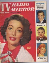ORIGINAL Vintage April 1956 TV Radio Mirror Magazine Loretta Young Pat B... - $18.51