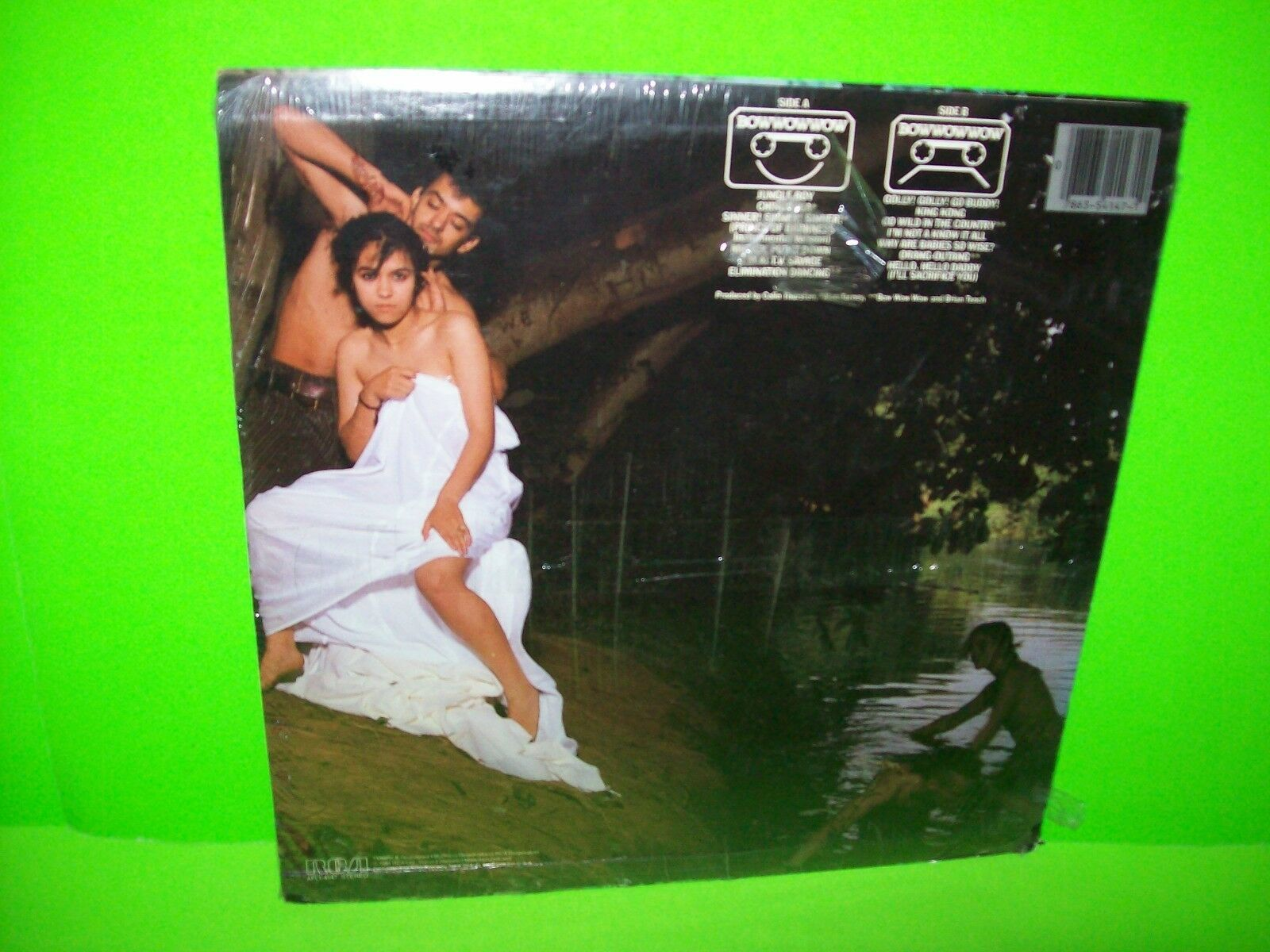 Bow Wow Wow – See Jungle .. 1981 Vinyl LP Record Album SEALED Original New Wave