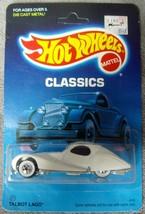 Hot Wheels•1986•Classics•No. 27•White•Talbot Lago•No. 4741-021961•Unpunc... - $10.99