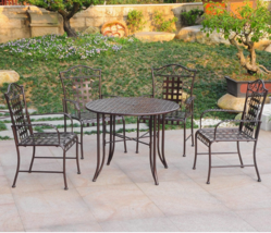 5pc Outdoor Patio Dining Set Home Garden Lawn Patio Living Furniture Acc... - $569.99
