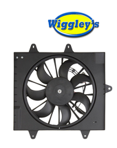 RADIATOR A/C SINGLE FAN ASSEMBLY CH3115156 FOR 06 07 08 09 PT CRUISER W/TURBO image 1