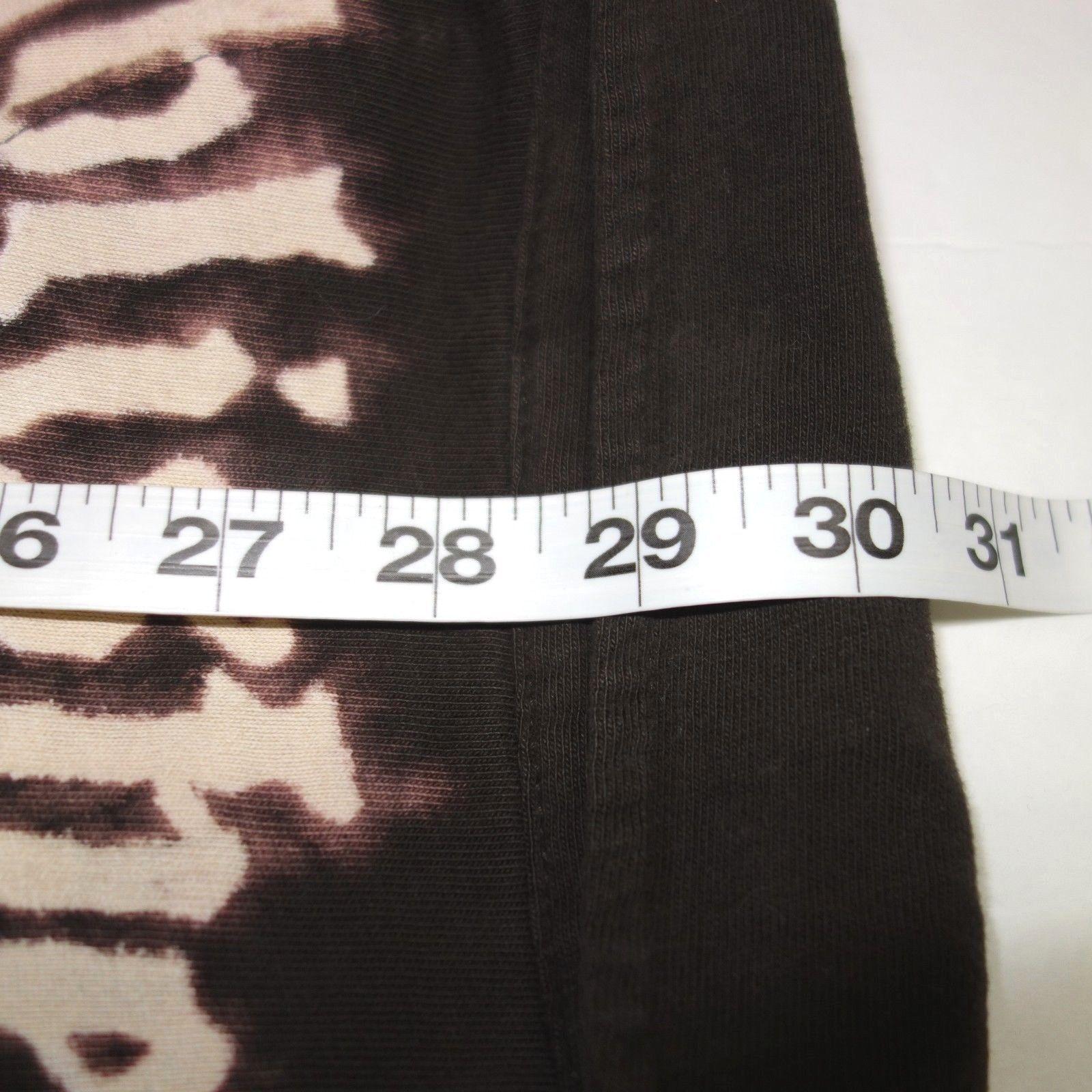 Gap Pocket Polo Shirt Men's Large Brown Cotton Bleached Design Established 1969 image 9