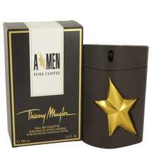 Angel Pure Coffee by Thierry Mugler Eau De Toilette Spray 3.4 oz for Men... - $98.68