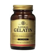 Solgar Gelatin Capsules with Calcium Carbonate, 100 Count - $9.85
