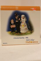 Dept 56 Snow Village Halloween - A Gravely Haunting - 2004 - #55240 - Mint - $19.95