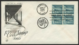 #1054A 1 1/4c Palace of the Governors, Art Craft-Add FDC **ANY 4=FREE SH... - $1.00