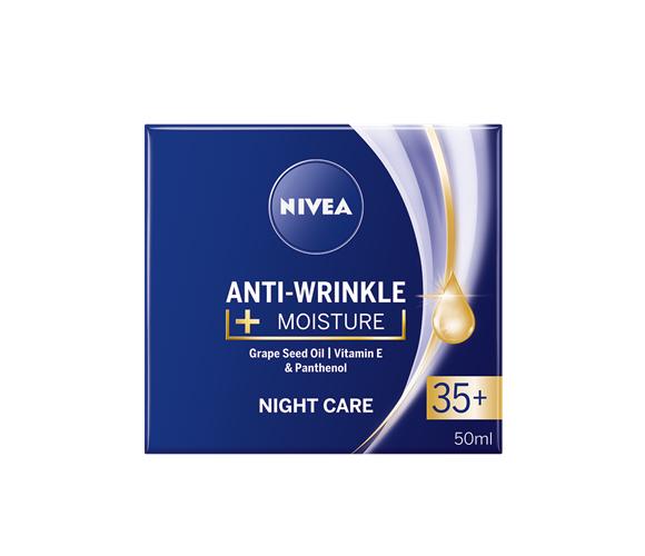 New NIVEA Day ot Night Face Cream 35+   Anti-Wrinkle + MOISTURE 50ml