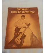 Guitarists' Book of Knowlege by Ed Sale, 1955 soft cover book - $7.43