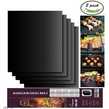 Charcoal Grill Mat Outdoor Indoor Under Gas Electric Tabletop BBQ Bake N... - $18.65