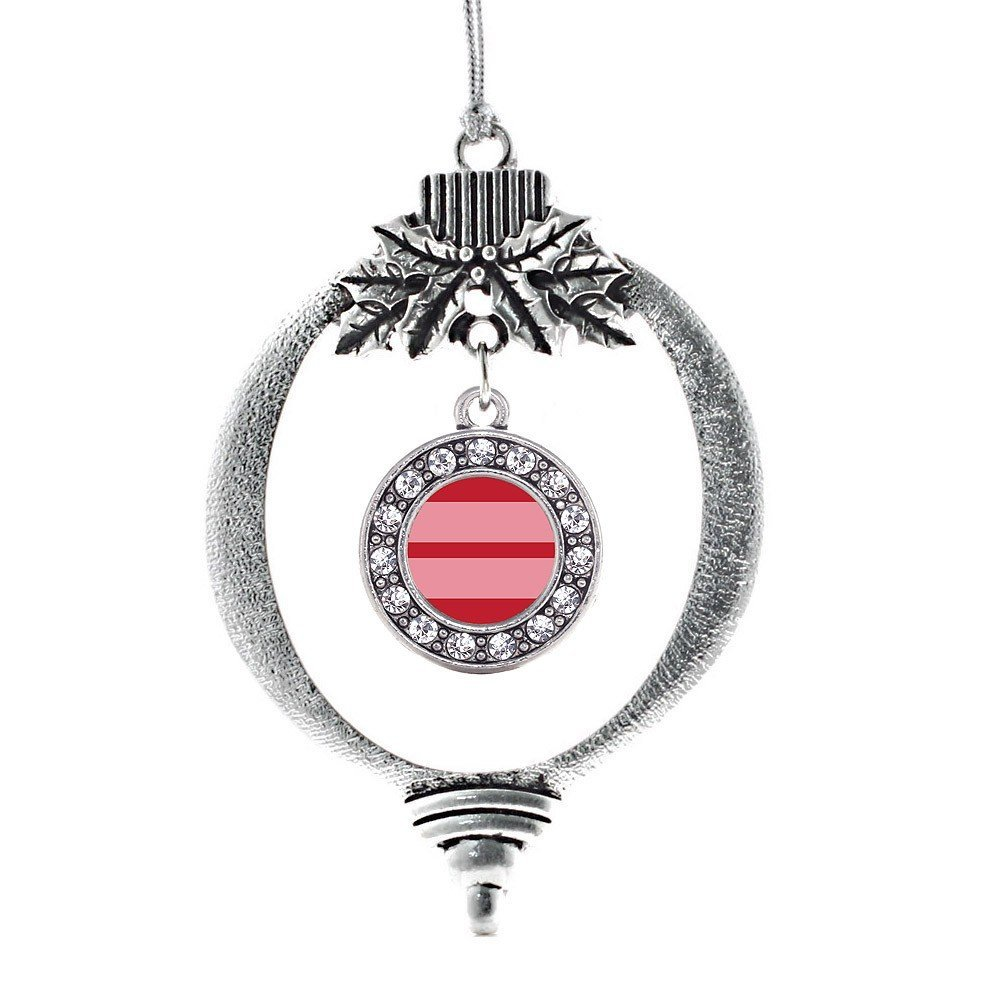 Inspired Silver Marriage Equality Circle Holiday Decoration Christmas Tree Ornam - $14.69