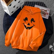 Halloween Hoodie Sweatshirt Pullover Women Sweater (D) Ship From USA image 1