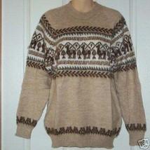 Alpaca Wool Sweater Crew Neck - Handmade in Peru - €50,91 EUR+