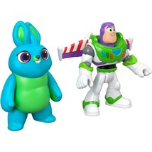 IMAGINEXT TOY STORY 4 BUNNY & BUZZ LIGHTYEAR PLAY FIGURES NEW Sealed - $12.82