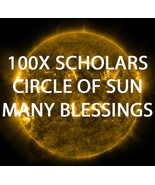 100X 7 HIGH SCHOLARS CIRCLE OF SUN MANY BLESSINGS EXTREME MAGICK RING PE... - $99.77