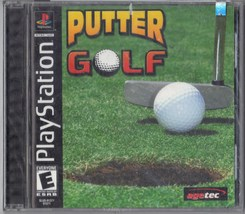 PUTTER GOLF-PLAYSTATION 1 NEW & SEALED VIDEO GAME - $6.95