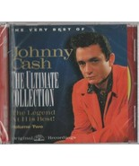 JOHNNY CASH  THE ULTIMATE COLLECTION  VOLUME 2  CD IS NEW SEALED - $5.50