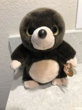 "Ty Beanie Boos Plush Toy Beaver DIGBY Stuffed Animal 9"" ~ Big Eyes A8 - $19.95"