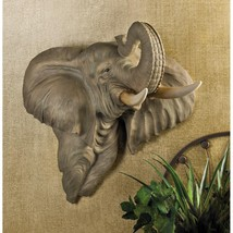 ELEPHANT Bust WALL DECORATION - €55,23 EUR
