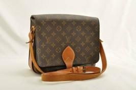 LOUIS VUITTON Monogram Cartouchiere GM Shoulder Bag M51252 LV Auth ar1642 - $480.00