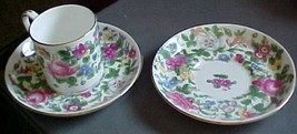 Crown Staffordshire-1 cup 2 saucers England - $3.99