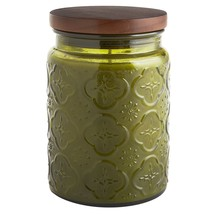 Pier 1 Imports NEW  HARITAGE Filled Jar Candle NEW Citrus Cilantro - $39.59