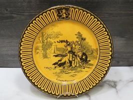 "Early Royal Doulton Eglington Tournament Seriesware Plate 10.5"" - $53.46"