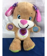 2014 Fisher-Price Laugh and Learn ABC Smart Stages Girl Puppy Talking 12... - $14.84