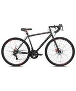 Men's 700c Nazz Elegant Gravel Road 14-Speed Bike, Dual Disc Brakes, Black - $261.85