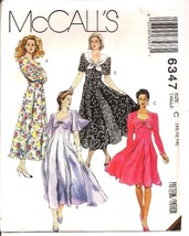 McCalls Dress Pattern 6347 Uncut Size C 101214 Instructions Included - $5.99
