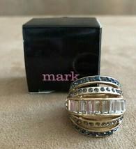7.5 AVON Mark Glam Scene Ring womens jewelry new in box stackable  - $12.38