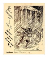 Paperboy Newsboy Boston Newspapers Delivery Carrier Antique Art Print Gr... - $34.99