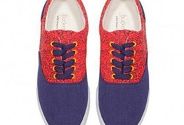Lace Low Bucketfeet 6 WNS Top Canvas Fisticuffs Up qSEI7A