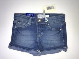 Girls Denim Shorts (6X, Medium Blue) - $14.69
