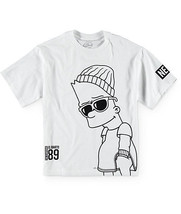 Neff x The Simpsons Boys Big Steeze T-Shirt  - $14.99