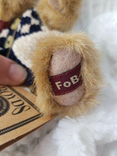 "Boyds Bears Caitlin Berriweather FOB Plush Stuffed Animal Teddy Bear 6"""