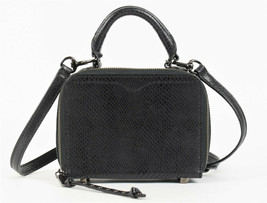 Rebecca Minkoff Wonder Box Leather Crossbody Bag - Black (Retail $175) - $64.35
