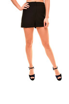 Finders Keepers Womens High Waist Huntr Short Black Size S - $50.77