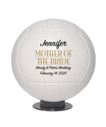 Mother of the Bride Mini Volleyball Wedding Gift - Personalized Wedding ... - $34.95