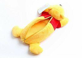 New Disney Winnie the Pooh Stuffed Plush Doll Pen Case Yellow Limited Japan image 3