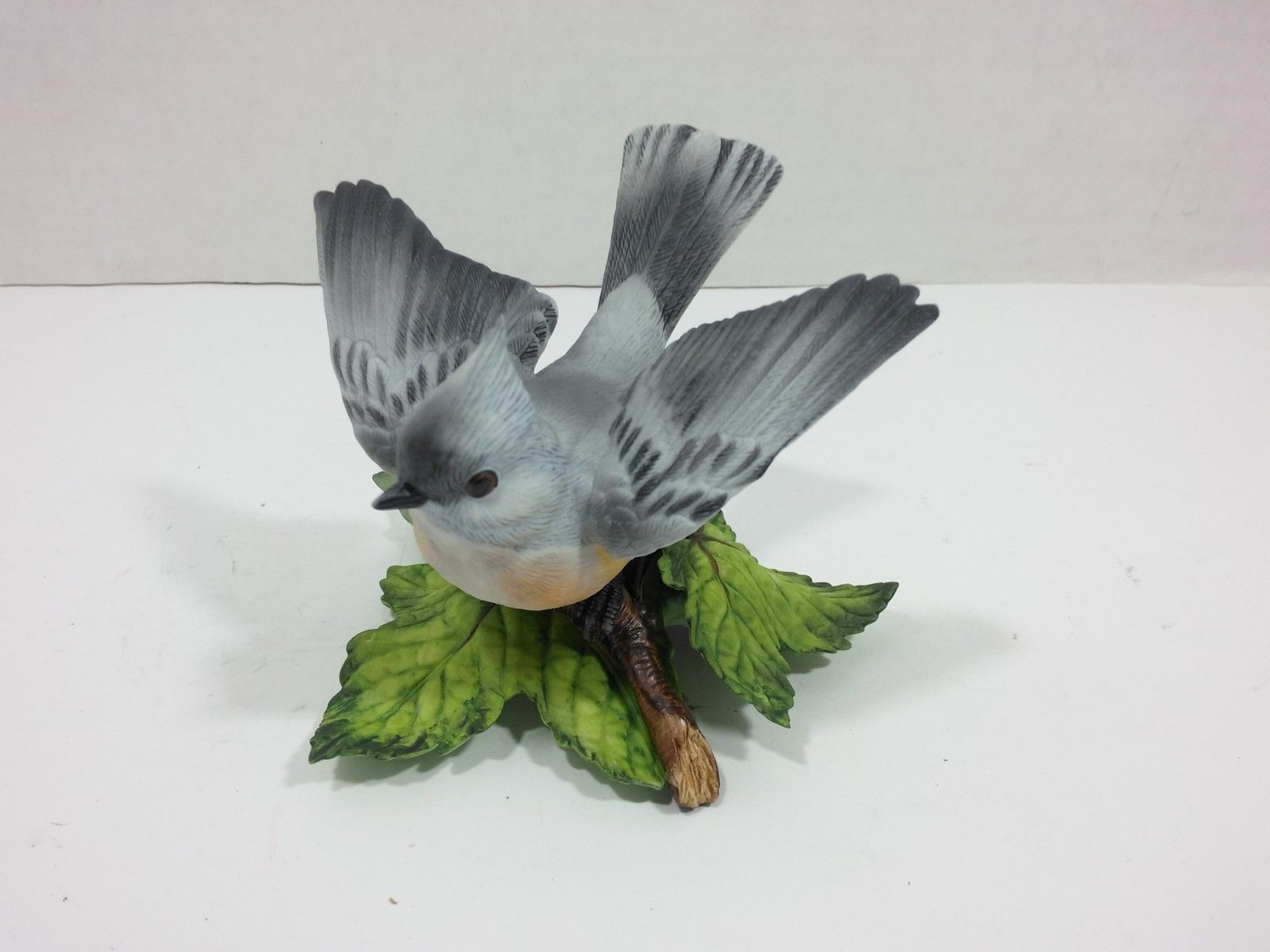 THE LENOX GARDEN BIRD COLLECTION Tufted Titmouse (Fine Porcelain 1986) image 3
